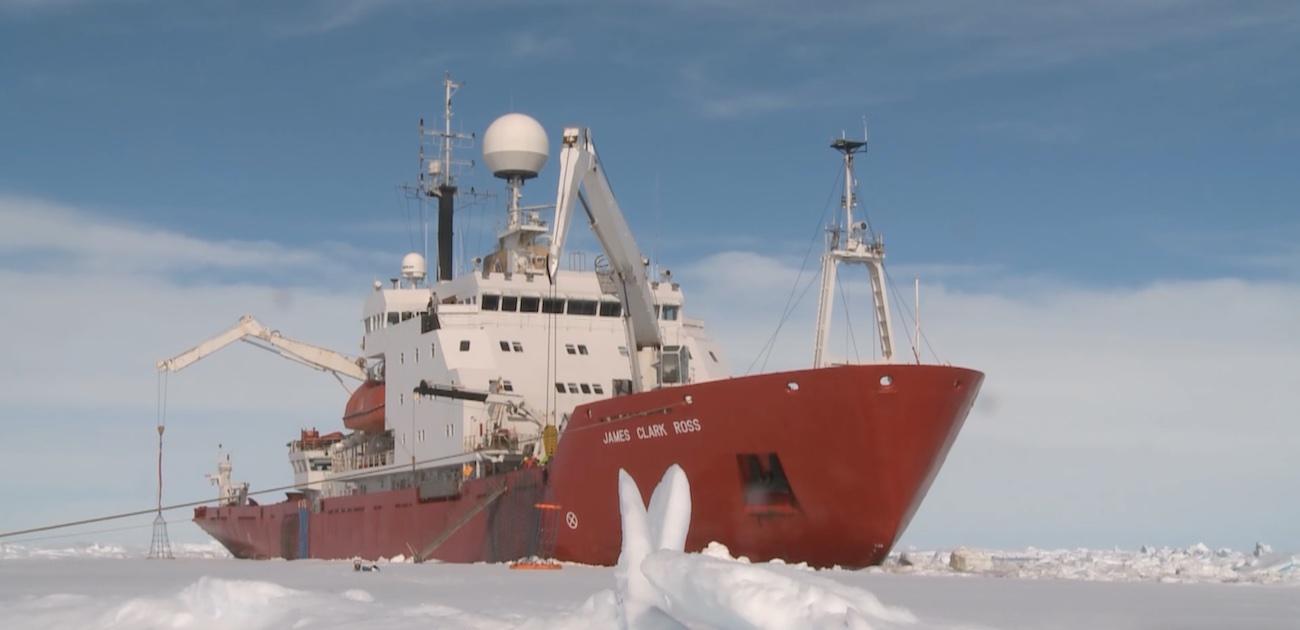 Британский ледокол James Clark Ross, купленный Украиной за $5 млн, прошел Босфор и идет в порт Одессы 2