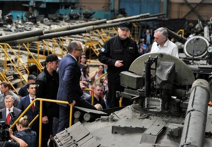 Вгособоронзаказе на 2018-й предусматривается минимум 10 танков «Оплот»— А.Турчинов