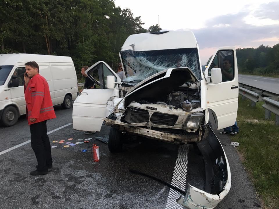 Группа ТНМК угодила вавтокатастрофу вКировоградской области
