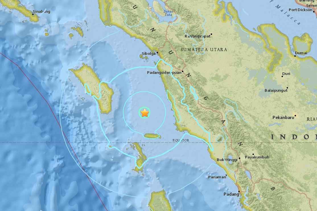 Землетрясение магнитудой 7,2 непривело кразрушениям— Новая Зеландия