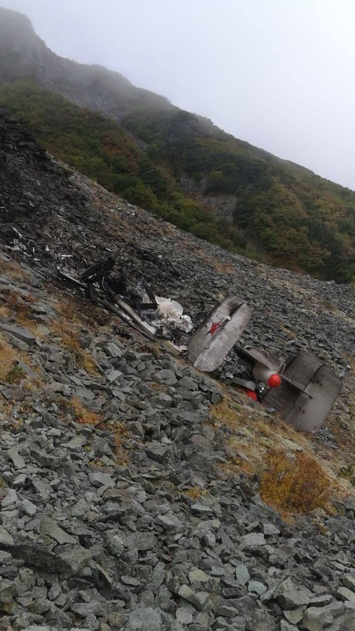 Вертолет Ка-27 авиаотряда ФСБ России потерпел крушение на Камчатке: в Сети появились первые кадры 1