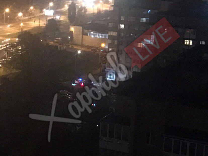 Неизвестные расстреляли авто вцентре города— Убийство вХарькове