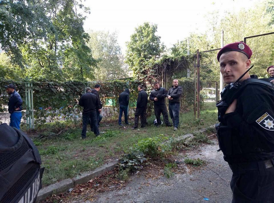 Кровавый захват спортклуба вКиеве: поножовщина и множество раненых