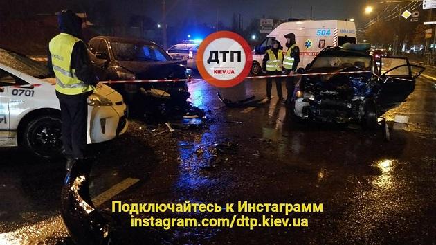 ВКиеве произошла ужасающая авария, виновником которой называют сотрудника МВД