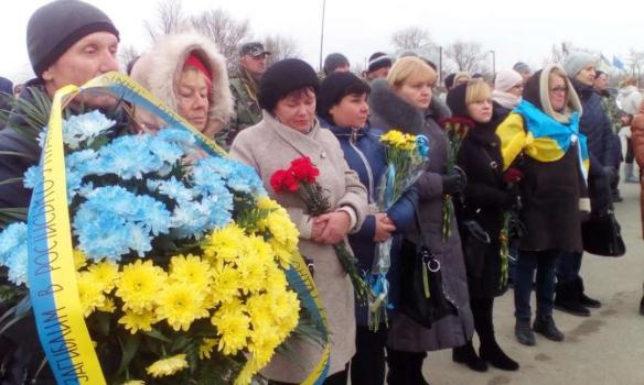 Украина соорудила монумент крымчанам, погибшим за отчизну