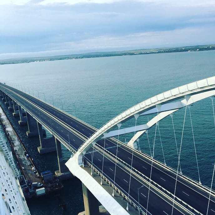 рисовании гуашевыми свежие фото крымского моста признавалась