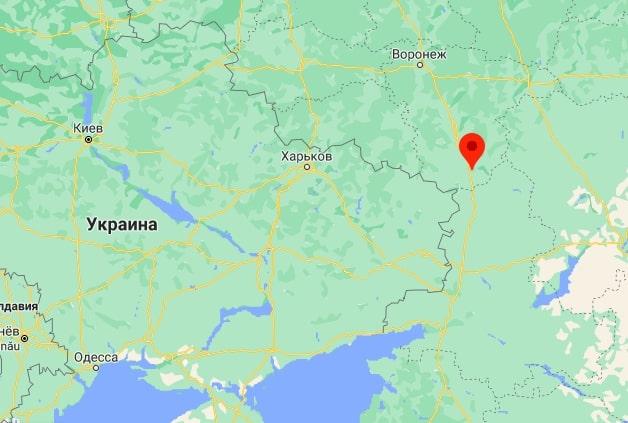 Под Воронежем пылает военная база РФ, до границы Украины 45 км. ВИДЕО 1