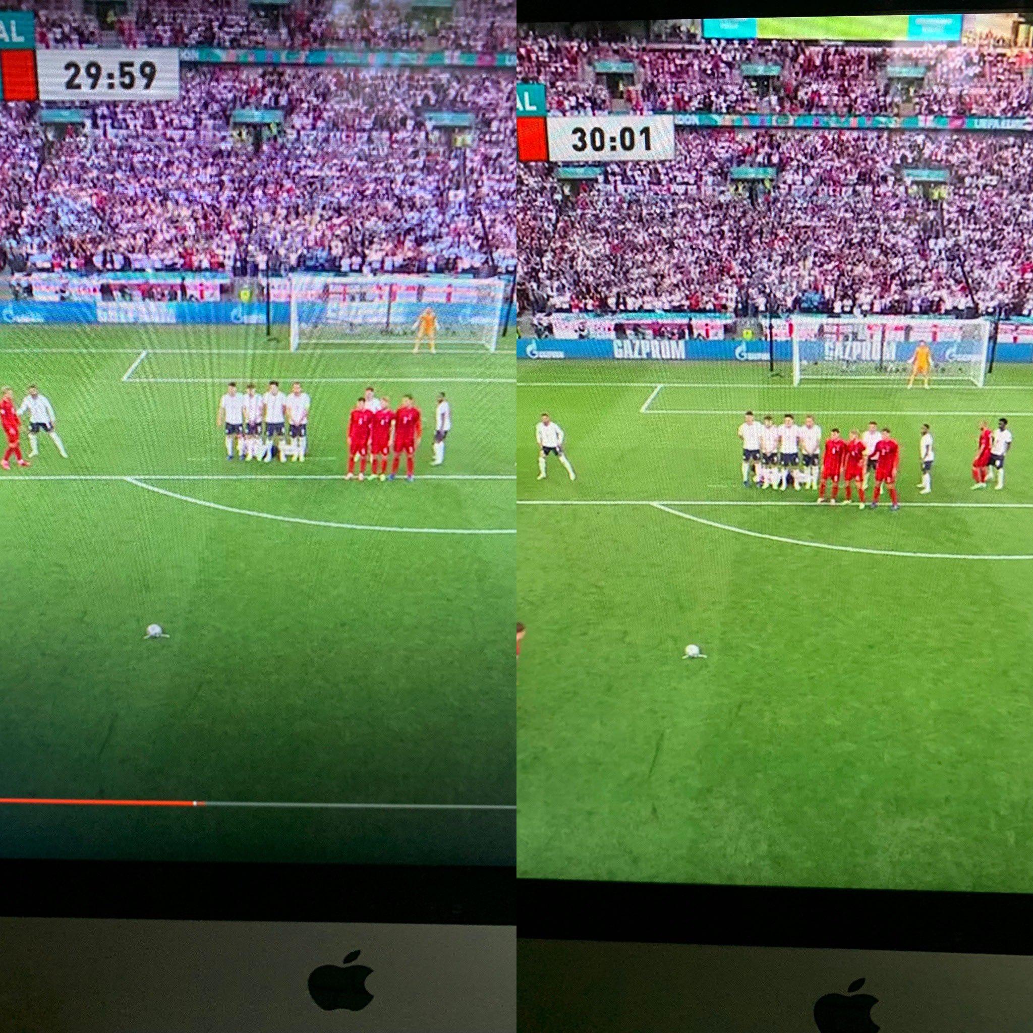 Полуфинал Евро – 2020 Англия – Дания закончился тремя скандалами и вызвал негодование СМИ и фанатов 1