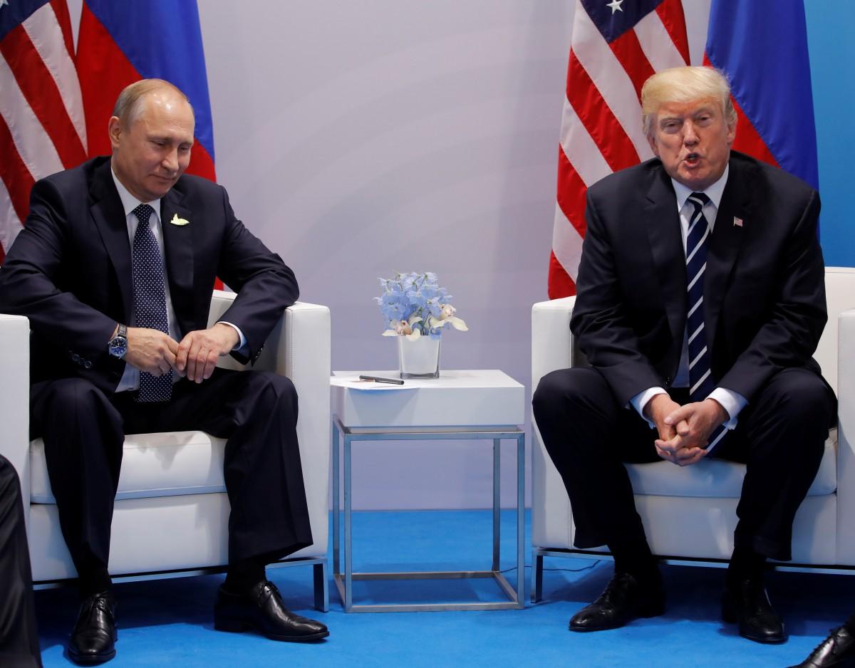 Путина знакомство трампа и