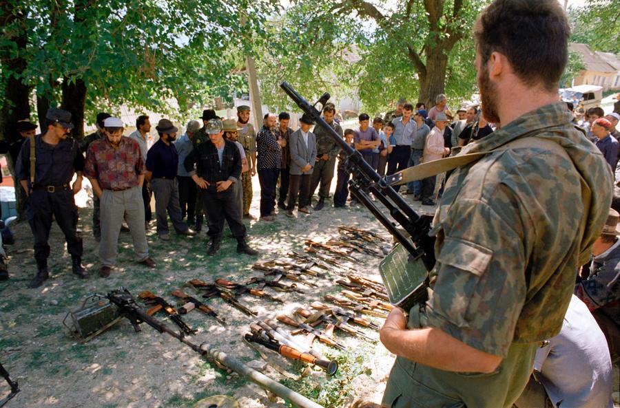 Конфликты между РФ и Чеченской Республикой в 1994-1996/1999-2009 годы