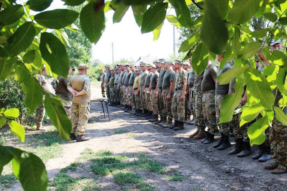 Засутки впроцессе АТО травмирован один военный