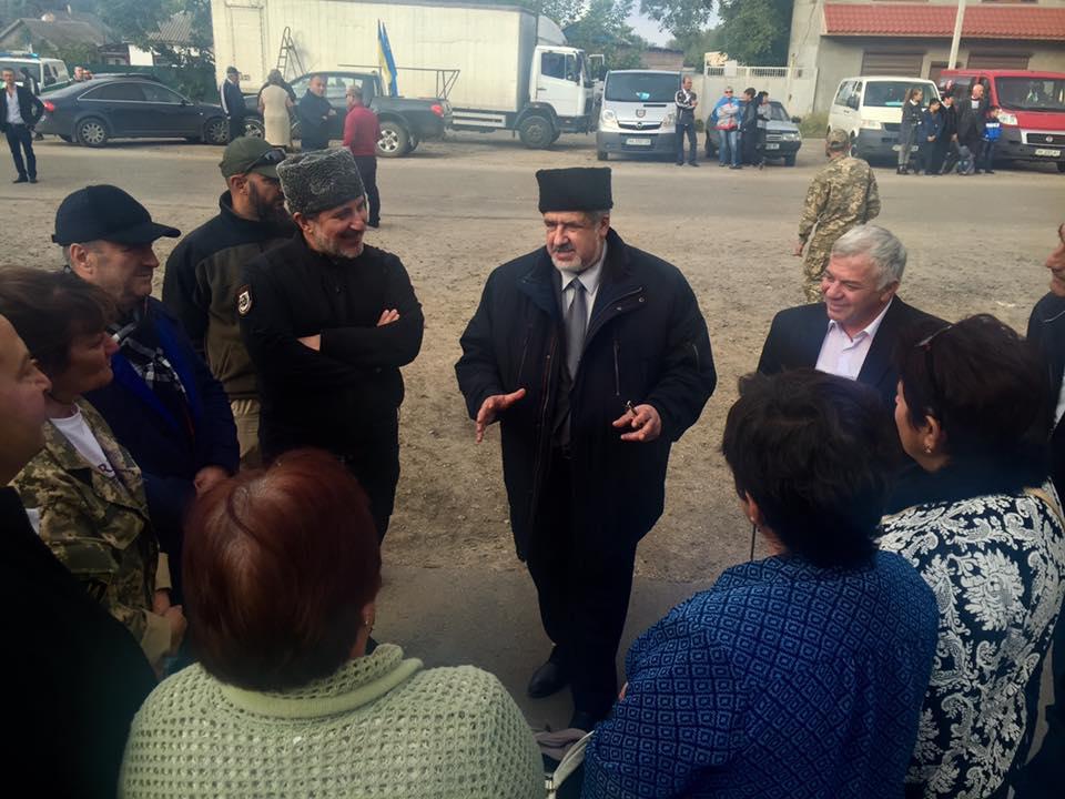 Чубаров объявил обизменении формата блокады Крыма