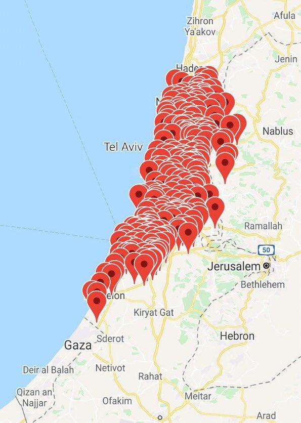 Удар ХАМАСА по Израилю: горят нефтяные резервуары, число жертв растет 1