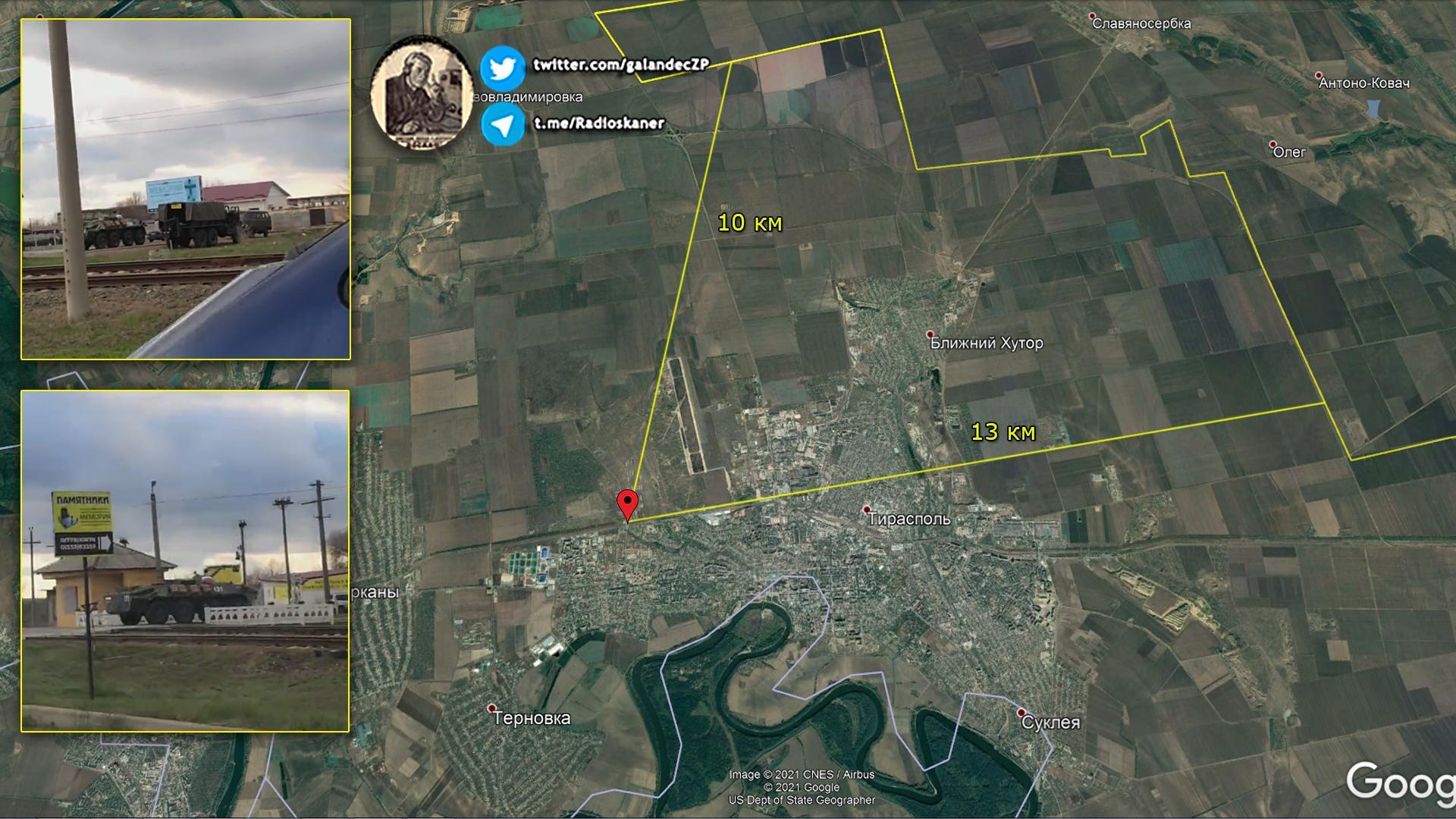Войско РФ на границе Украины с Приднестровьем - Кремль готовит провокацию 1