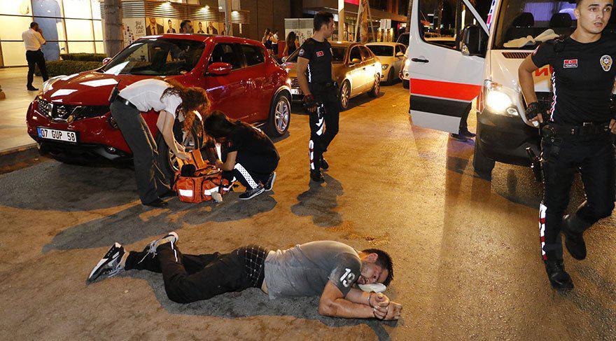 Турист из Российской Федерации  ударил головой турецкого полицейского иоказался в клинике
