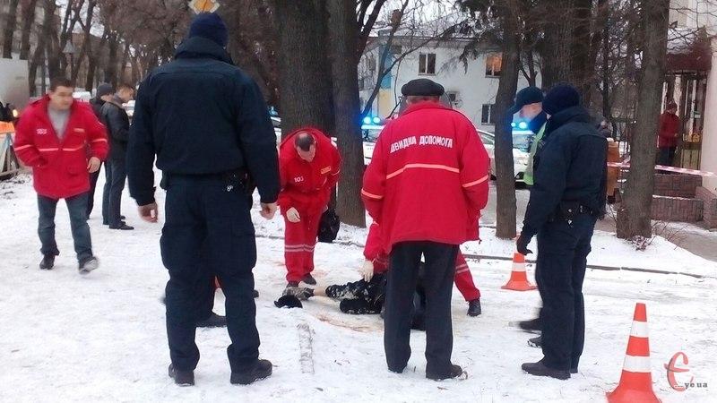 ВХмельницком патрульные убили мужчину, ранившего 3-х человек
