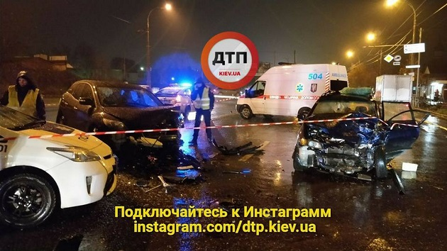 Нетрезвый чиновник МВД устроил смертельную ДТП вКиеве