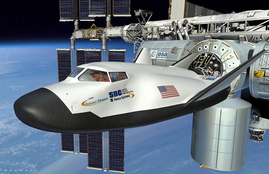 Космический челнок Dream Chaser отправится кМКС в 2020-ом году