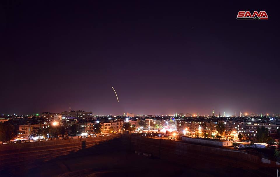 ПВО Сирии отразили атаку Израиля врайоне аэропорта Дамаска— SANA