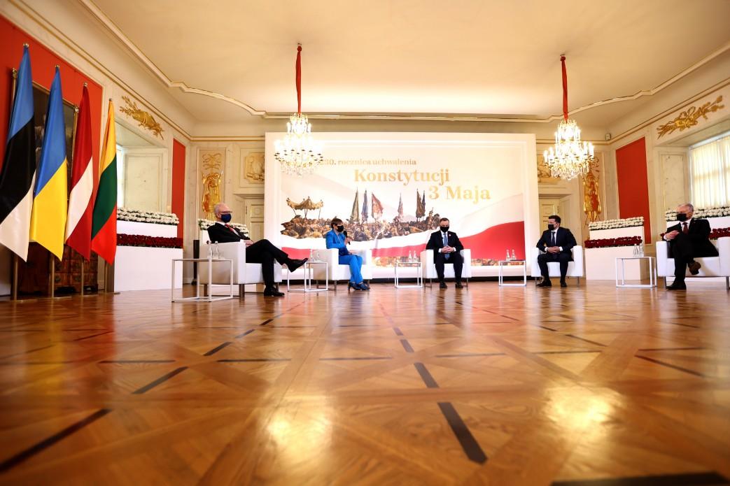 Польша, Украина и страны Балтии подписали Декларацию о европейской перспективе – кадры обошли Сеть 1