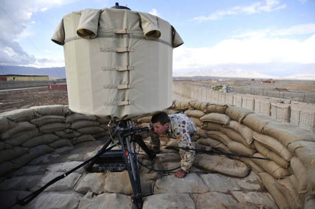 LCMR (Lightweight Counter-Mortar Radar)