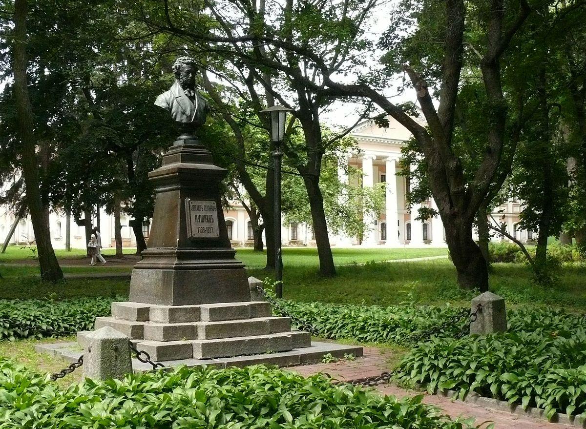ВЧернигове украли бюст Пушкина, установленный в 1900
