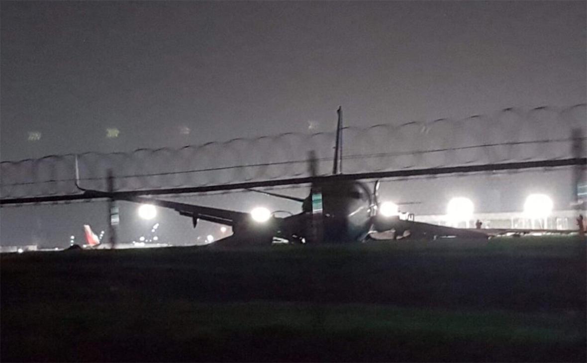 Пассажирский самолет китайской авиакомпании совершил жесткую посадку ваэропорту Манилы
