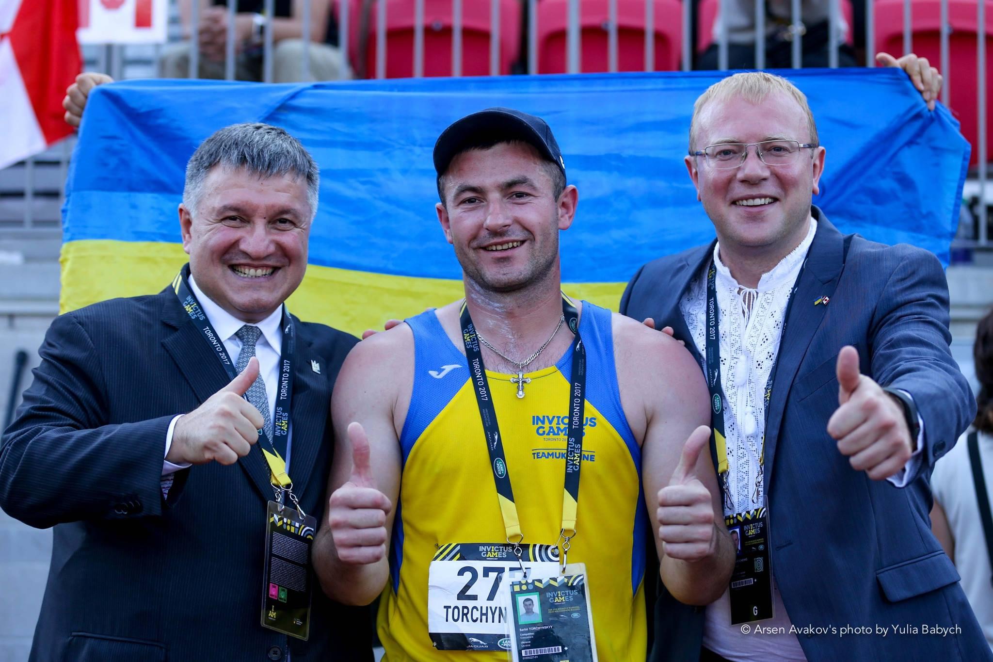 Украинец завоевал первую медаль наInvictus Games вКанаде