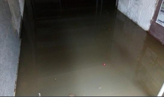 ВОдессе ливень вызвал потоп наЛанжероне