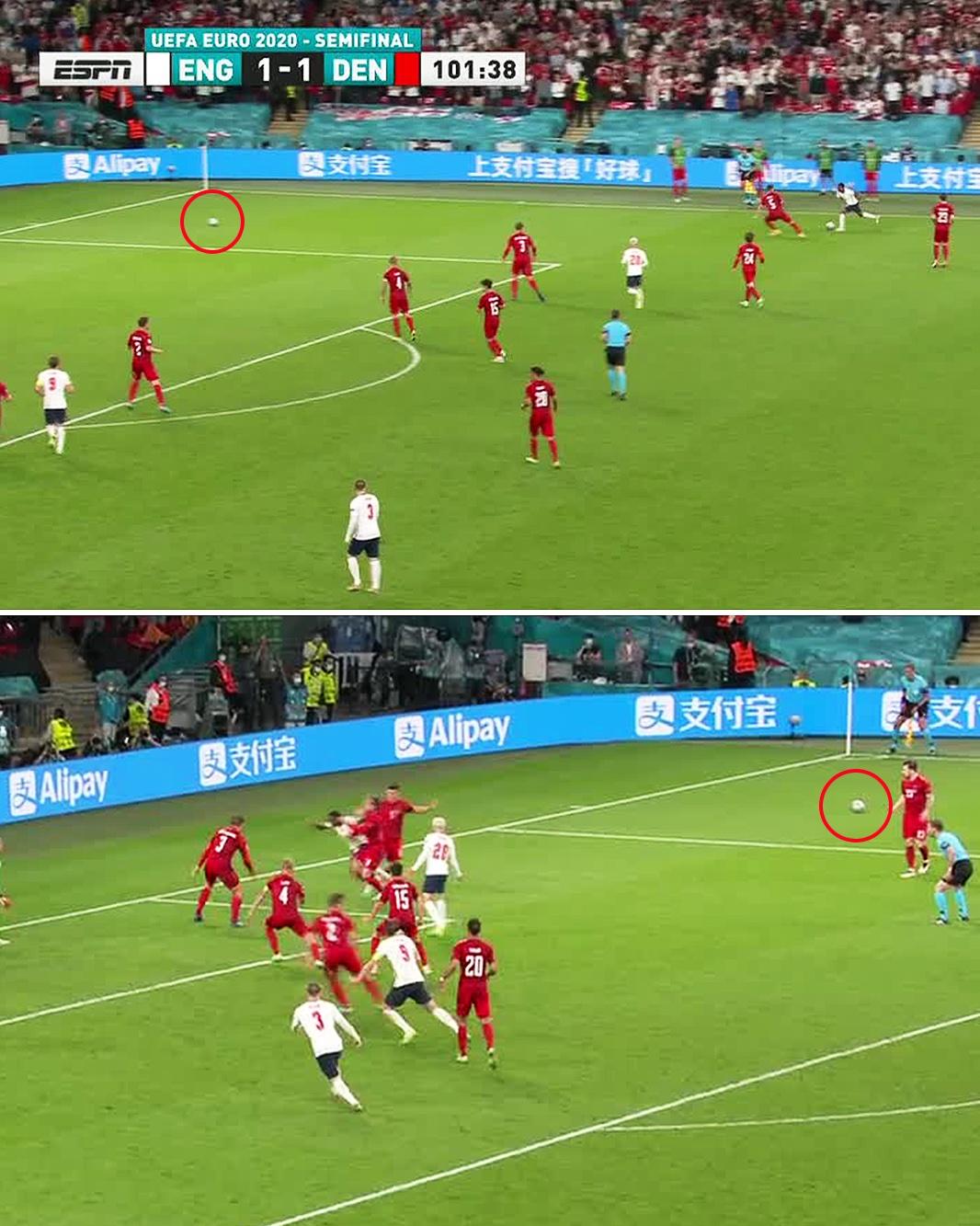 Полуфинал Евро – 2020 Англия – Дания закончился тремя скандалами и вызвал негодование СМИ и фанатов 2