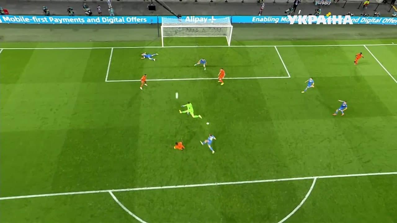 Украина и Нидерланды устроили голевую перестрелку и выдали лучший матч Евро-2020 2