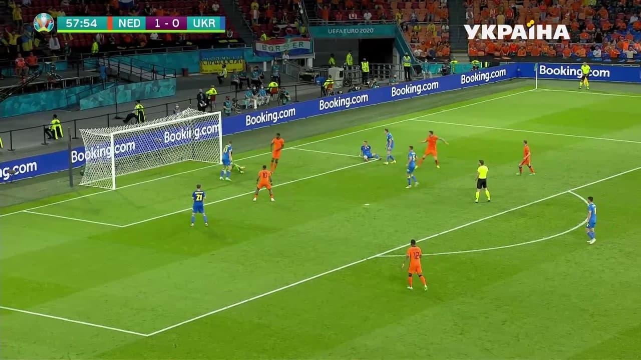 Украина и Нидерланды устроили голевую перестрелку и выдали лучший матч Евро-2020 3