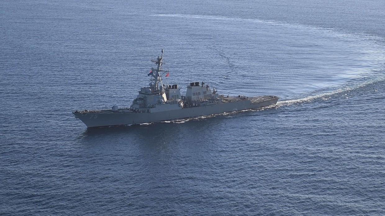 Вопреки призывам России: Ракетный эсминец США вошел в Черное море 1