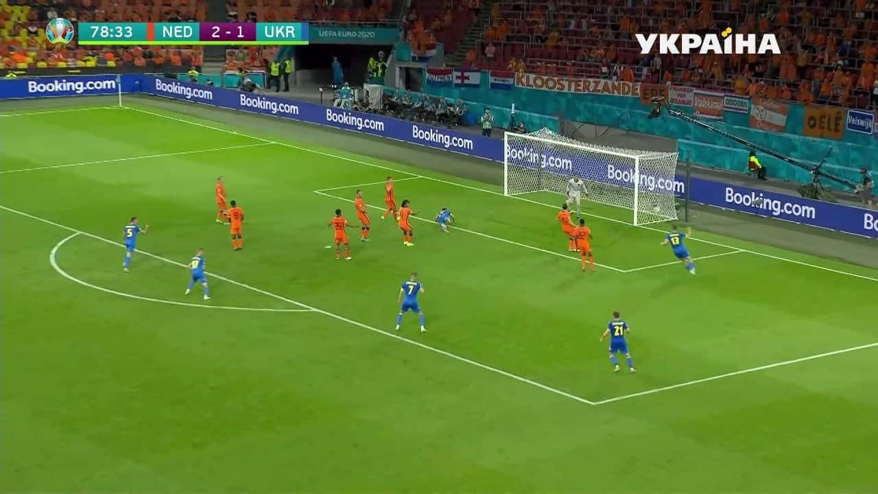 Украина и Нидерланды устроили голевую перестрелку и выдали лучший матч Евро-2020 5