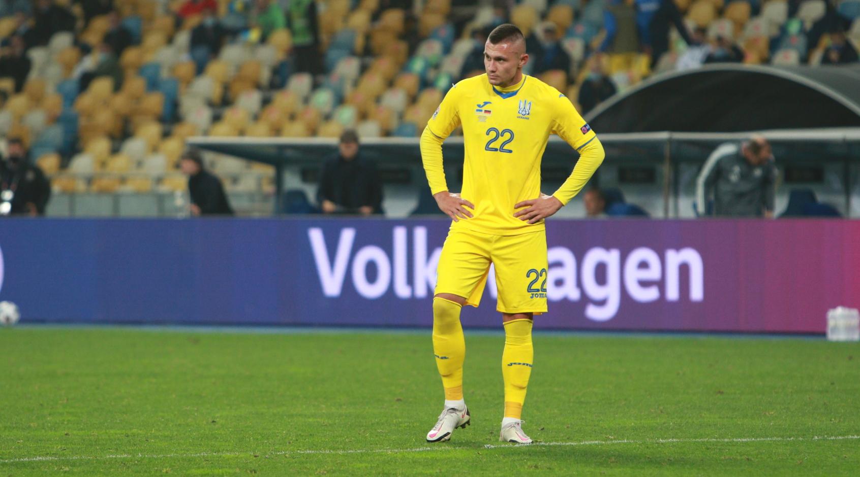Накануне матча ¼ финала Евро – 2020 с Англией сборная Украины усилилась 1