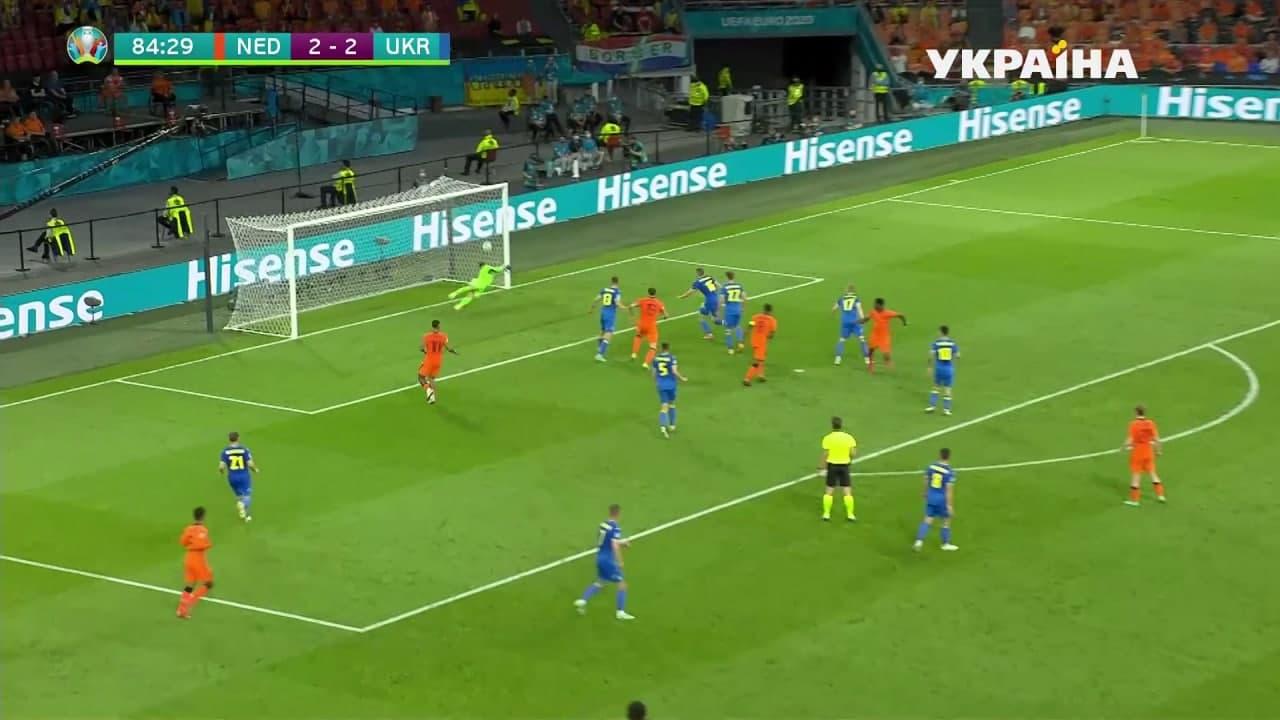 Украина и Нидерланды устроили голевую перестрелку и выдали лучший матч Евро-2020 6