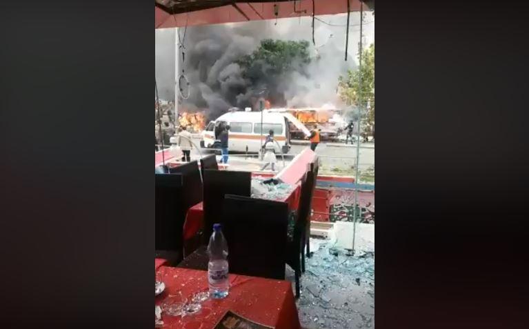 При взрыве заминированного авто вцентре Дамаска погибли два человека