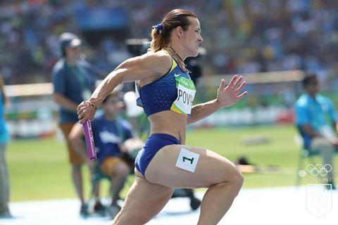 Украинская эстафета 4 по100 метров— 2-ая вЦюрихе