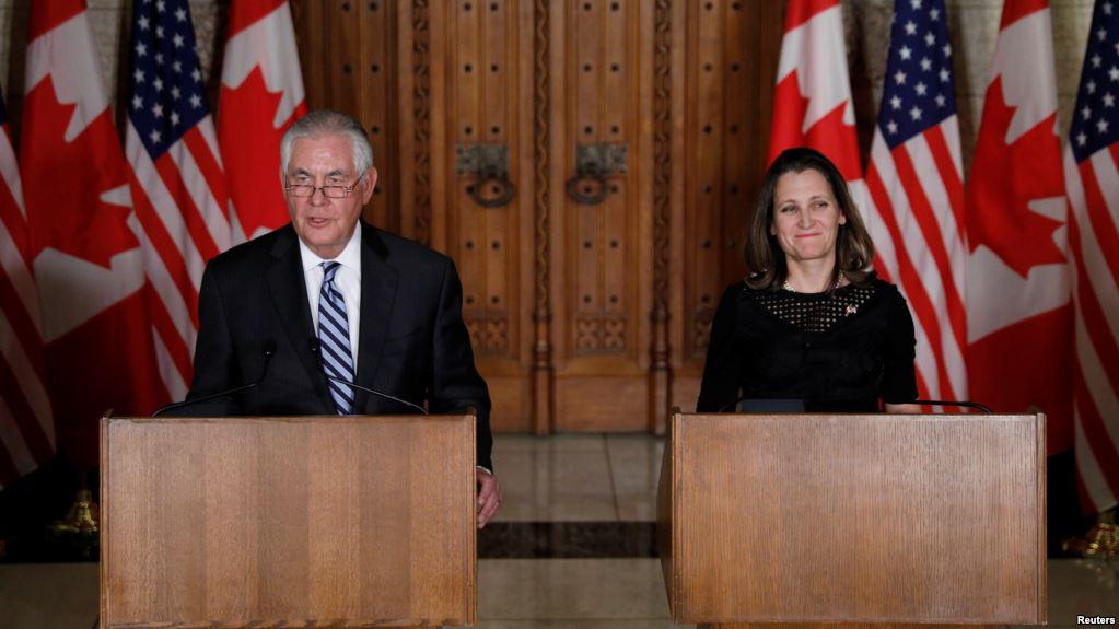 США продолжают работу над изменением условий NAFTA