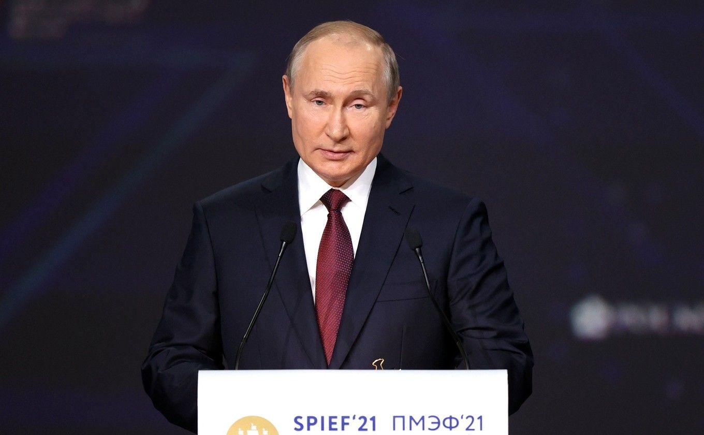 """Путин о Протасевиче: """"Пускай делает, что хочет, борется с режимом Лукашенко"""""""