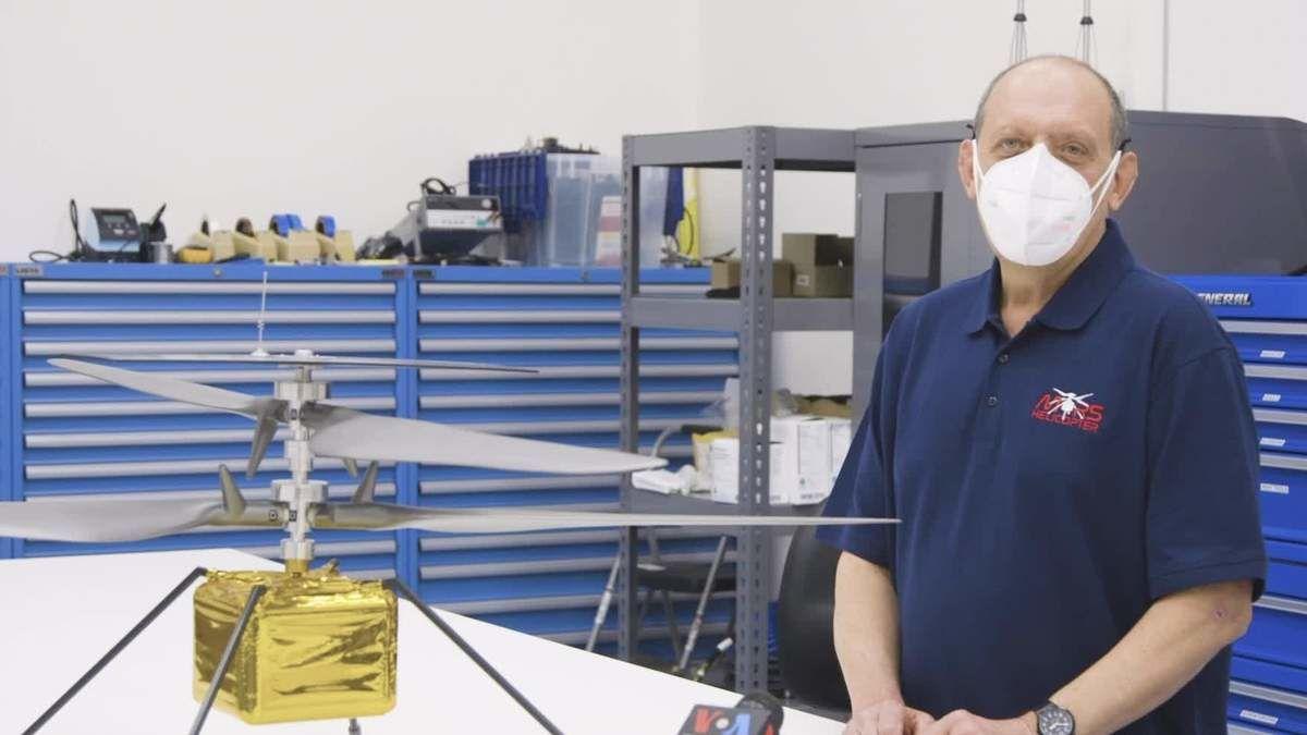 Зеленский тепло поздравил украинца Панченко, разработавшего уникальный вертолет, совершивший полет на Марсе