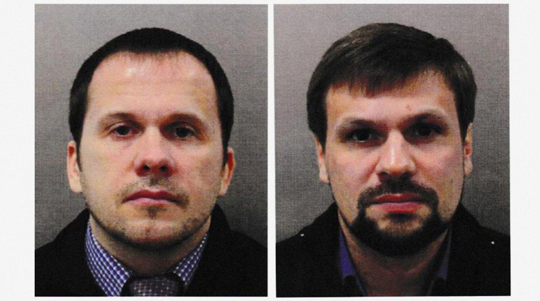 В Чехии показали копии поддельных паспортов разведчиков ГРУ Петрова и Боширова