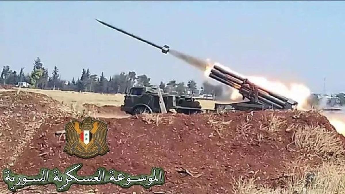 """Сирийская армия ударила """"Ураганами"""" по турецким войскам в провинции Алеппо, детали"""