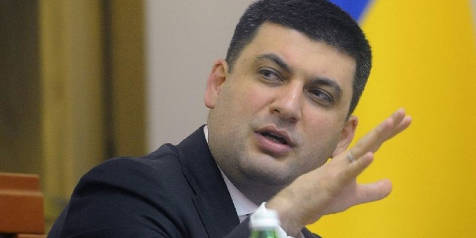 """Гройсман назвал """"махновщиной"""" транспортную блокаду и призвал силовиков к жестким действиям"""