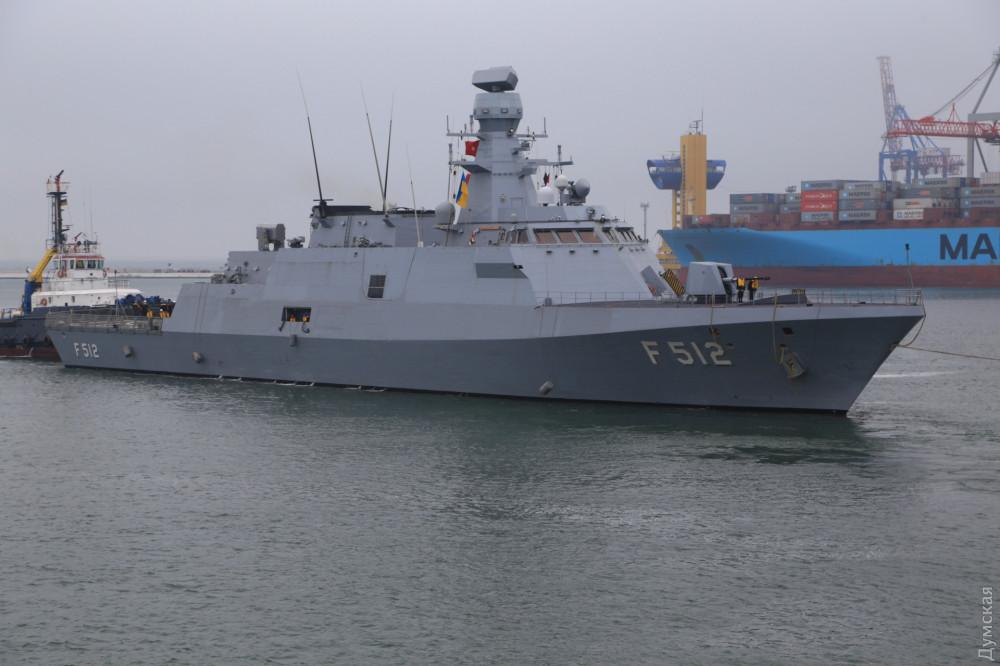 TCG Salihreis F-246 и самый современный корабль Турецкой Республики: в Одессу для учений Sea star вошли корабли турецких ВМС - кадры