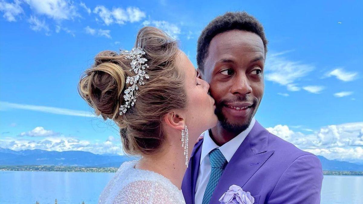 """""""Лучший день в моей жизни"""", – первые фото со свадьбы Свитолиной и Монфиса"""