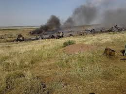 СНБО: из «Градов» в течение четырех часов обстреливали позиции сил АТО у Васильевки и Амвросиевки
