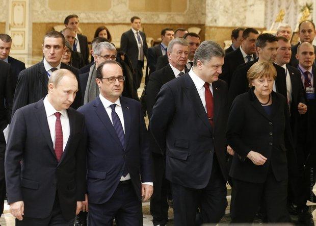 порошенко, меркель, олланд, путин, нормандская четверка, донецк, луганск, донбасс, россия, украина, савченко, обсе