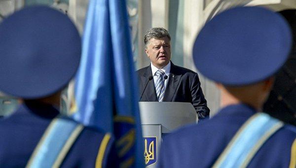 порошенко петр, безвиз, евросоюз, политика, день независимости украины. праздник