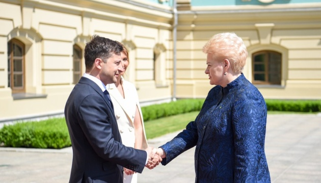 Даля Грибаускайте, Владимир Зеленский, инаугурация, совет, олигархия, президент, Украина, Литва